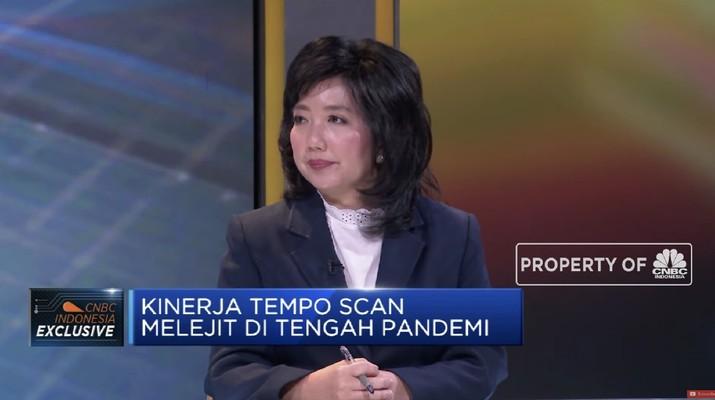 CFO PT Tempo Scan Pacific Tbk. Liza Prasodjo