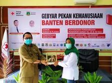 Darurat Stok Darah, PMI Banten Gelar Gebyar Pekan Kemanusiaan