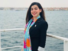 Wanita Cantik Ini Sumber Ever Given Nyangkut di Terusan Suez?