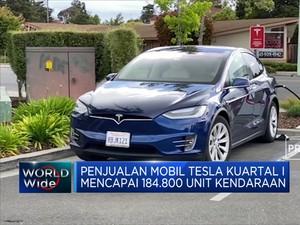 Rekor Baru Penjualan Mobil Tesla Capai 184 Ribu Unit