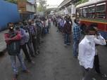 Corona Melejit Lagi di India, Kasus Harian Rekor