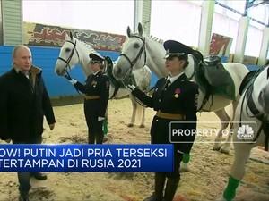 Wow! Putin Jadi Pria Terseksi  & Tertampan Di Rusia 2021