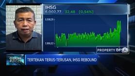 Berhasil Rebound, IHSG Ditutup di Level 6.000-an