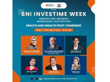 Live Now! Health & Wealth Postpandemic di BNI Investime Week