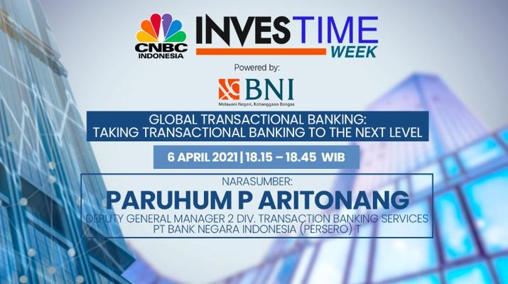 Paruhum P Aritonang, Deputy General Manager 2 Division Transaction Banking Services PT Bank Negara Indonesia Tbk (BBNI)