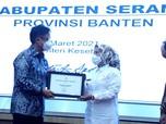 Sukses Basmi Frambusia, Bupati Serang Raih Penghargaan Menkes
