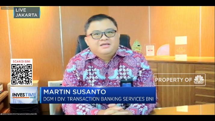 Cash Management BNI,  Solusi Jalankan Bisnis Dari Genggaman (CNBC Indonesia TV)