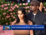 Kim Kardshian Resmi Jadi Miliarder Versi Forbes