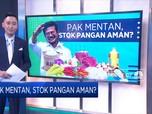 Pak Mentan, Stok Pangan Aman?