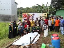 Kebut Pertanian Organik, BUMI-Arutmin Bantu Petani Kalsel