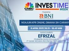 Live Now! Ngajuin KPR Online di BNI Investime Week, Bisa kok