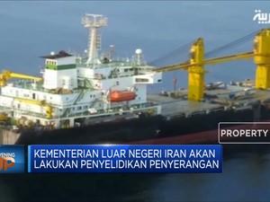 Kapal Iran Diserang Israel Di Laut Merah