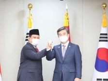 Top! Prabowo Datang, Korsel Sebut Proyek Jet Tempur RI Lanjut