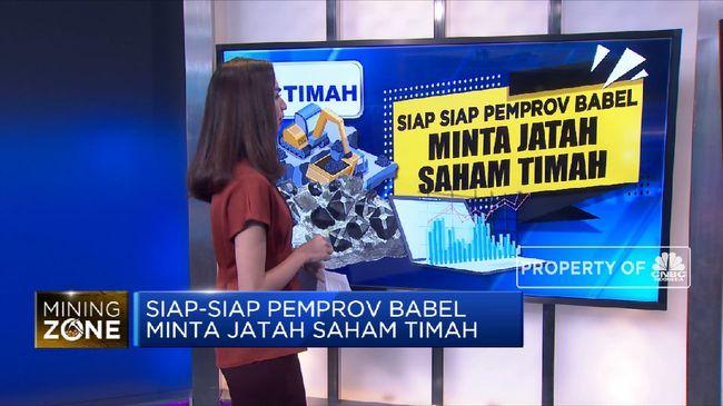 TINS Pemprov Bangka Belitung Minta Jatah Saham PT Timah