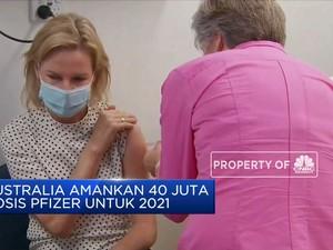 Australia Tambah Stok Vaksin Pfizer