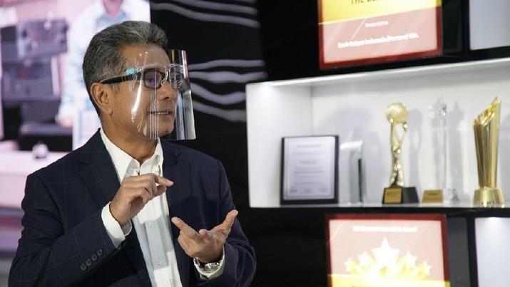 BRI mendapat 5 penghargaan dalam acara Malam Anugerah BUMN 2021 tahun ke-10, Kamis (8/4) di Jakarta.