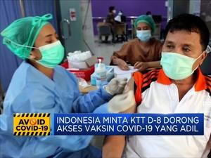 Jokowi Serukan Tolak Nasionalisme Vaksin di KTT D-8