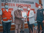 Stok Darah Normal, PMI Banten Apresiasi Pendonor Sukarela