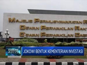 Dapat Restu DPR, Jokowi Bentuk Kementerian Investasi