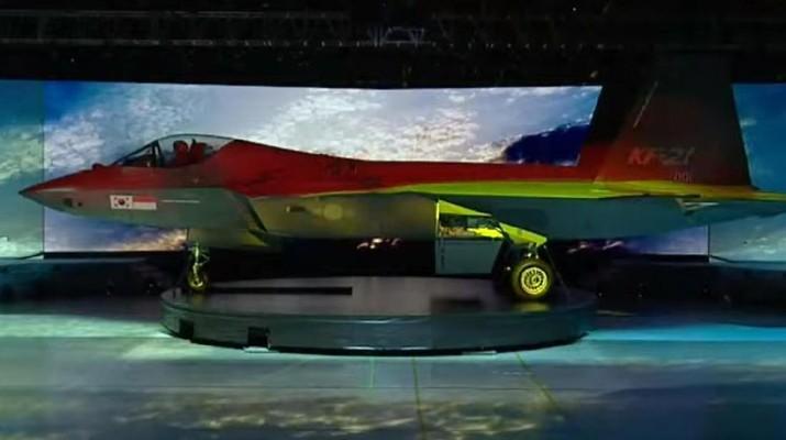 Menhan Prabowo Hadiri Peluncuran Pesawat Jet Tempur KFX di Korea Selatan (Tangkapan Layar via Kemhan)