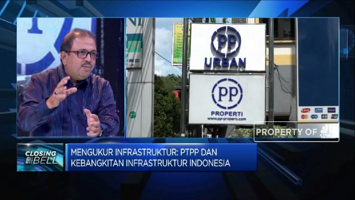 Sambut Kebangkitan Sektor Infra, PTPP Perkuat Struktur Keuangan (CNBC Indonesia TV)