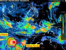 Awas Siklon Tropis Seroja! Daerah-daerah Ini Bakal Terdampak