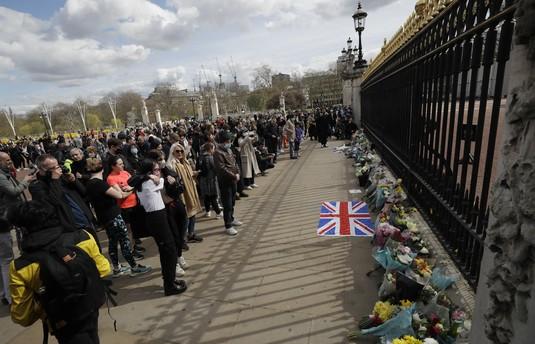 Inggris Berduka! Begini Suasana Duka Mendiang Pangeran Philip