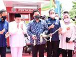 Menteri BUMN & Kepala BPH Migas Resmikan Pertashop Pesantren