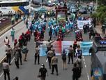 May Day! 50 Ribu Buruh Beraksi, Merapat Turun ke Jalan Today