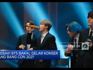 Daebak! BTS Bakal Gelar Konser  'Bang Bang Con 2021'