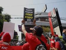 Markas 'Dikepung', Manajemen KFC 'Keder' & Ubah Sistem Upah