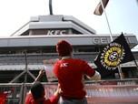 Cek Saham FAST, Setelah 3 Hari Markas KFC 'Dikepung' Karyawan