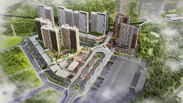 Mitbana dan Sinar Mas Land sepakat untuk membangun proyek Transit Oriented Development (TOD) di BSD City. Ist