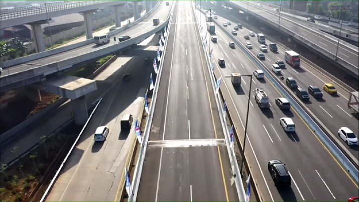 Peresmian Penamaan Jalan Tol Layang Jakarta - Cikampek