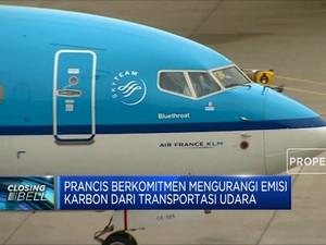 Prancis Larang Penerbangan Jarak Pendek