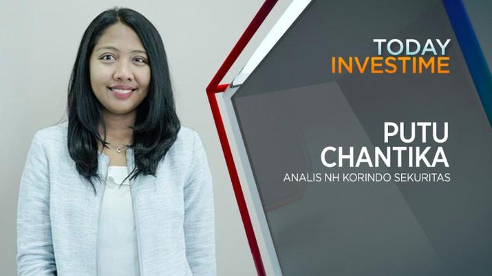 Putu Chantika, analis NH Korindo sekuritas