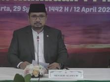 Menag Larang Umat di Zona Merah-Oranye Tarawih di Masjid