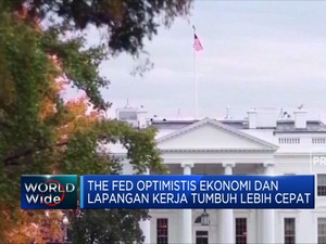 The Fed Optimistis Ekonomi AS Tumbuh Lebih Cepat