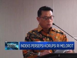 Wah! Indeks Persepsi Korupsi RI Melorot