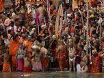 Mencekam, Tsunami Covid-19 Terjadi di India