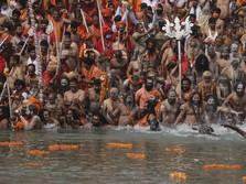 Tsunami Corona India, 100 Jenazah Mengapung di Sungai Gangga