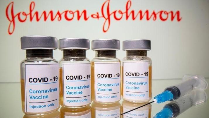 vaksin Covid-19 Johnson & Johnson. AP/