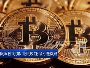 Mantabs! Harga Bitcoin Terus Cetak Rekor
