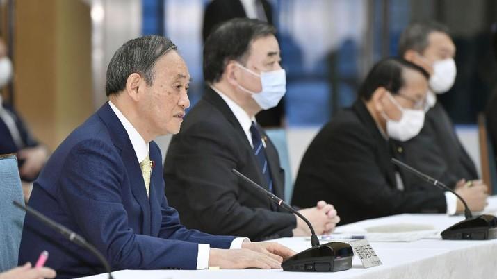 Perdana Menteri Jepang Yoshihide Suga. AP/Yoshitaka Sugawara
