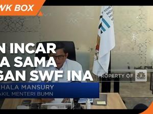 Sebelum IPO, Perusahaan BUMN Incar Kerja Sama dengan SWF INA