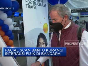 Bandara San Fransisco AS Terapkan Scan Biometrik Wajah