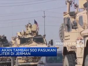 AS akan Tambah 500 Pasukan Militer di Jerman