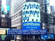 Coinbase IPO di Wall Street, Valuasi Tembus Rp 1.255 T