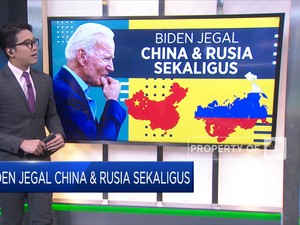 Joe Biden Jegal China dan Rusia Sekaligus