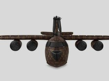Potret Tas Miniatur Pesawat LV yang Harganya Rp 570 Juta